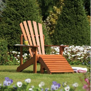 Gartenliege Adirondack von Rowlinson Garden Pro..
