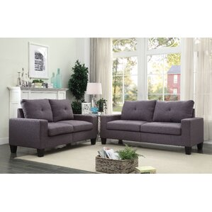 Platinum II 2 Piece Living Room Set