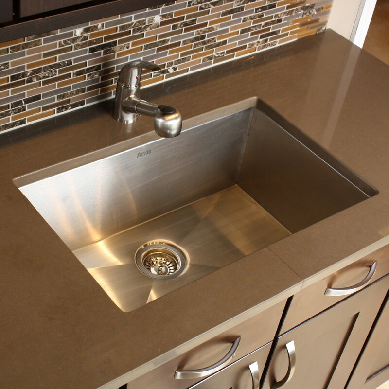 Stainless Single Bowl Kitchen Sink Nantucket sinks pro series 28 x 18 large rectangle stainless steel pro series 28 x 18 large rectangle stainless steel single bowl kitchen sink workwithnaturefo