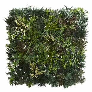 Artificial Living Wall Fern Plant