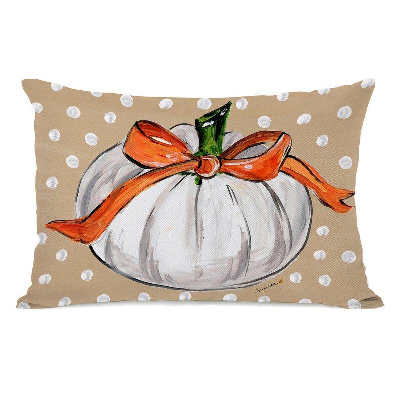 Comeaux Pumpkins Lumbar Pillow