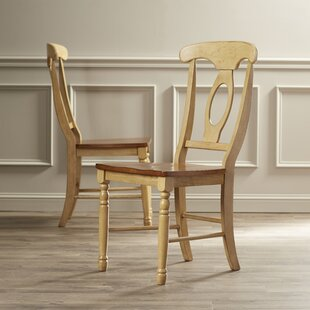 Courtdale Solid Wood Dining Chair (Set Of 2) Wonderful