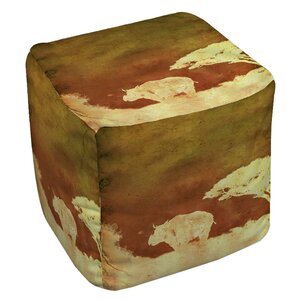 Safari Sunrise 2 Ottoman by Manual Woodworkers & Weavers