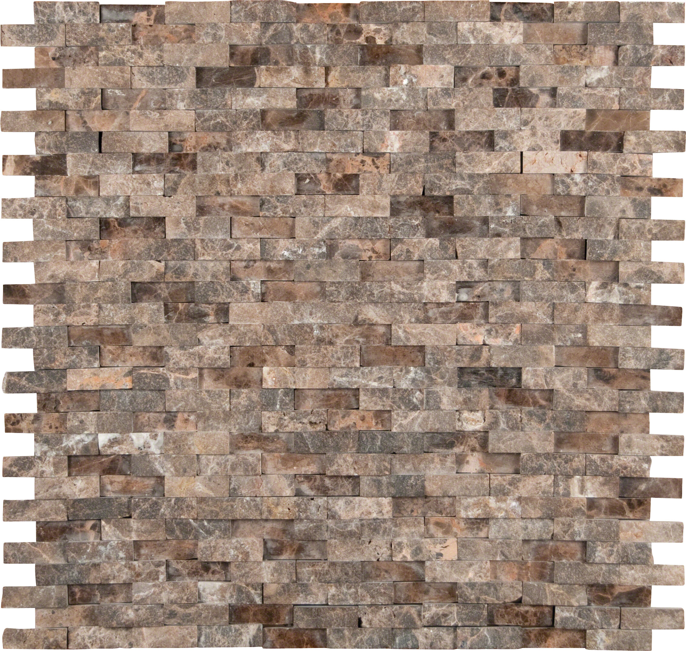 Msi Emperador 12 X Marble Splitface Tile In Brown Reviews Wayfair