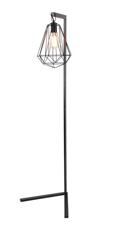 Metal wire 55 task floor lamp reviews allmodern metal wire 55 task floor lamp mozeypictures Images