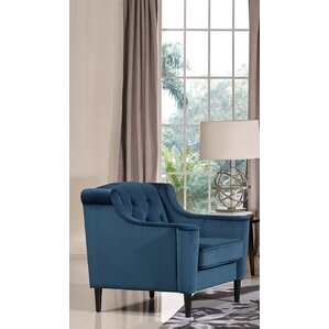 Crewkerne Velour Armchair ..
