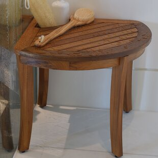 Estate Wood Shower Bench