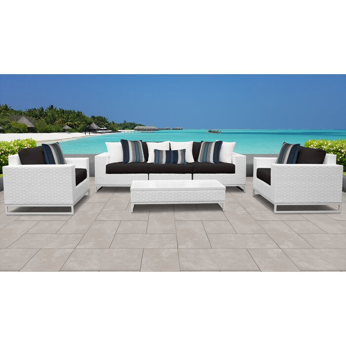Phenomenal Miami 6 Piece Sofa Set With Cushions Download Free Architecture Designs Scobabritishbridgeorg