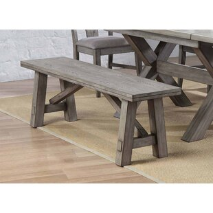 Vergara Wood Backless Bench