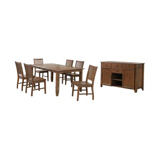 Huerfano Valley 8 Piece Extendable Dining Set