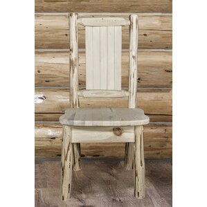 Abordale Solid Wood Dining Chair by Loon Peak