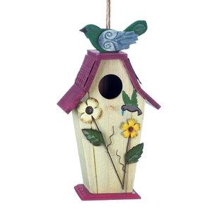 Metal Bird Houses You'll   Wayfair on