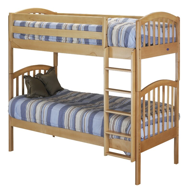 Orbelle Classic Twin Over Twin Bunk Bed Amp Reviews Wayfair