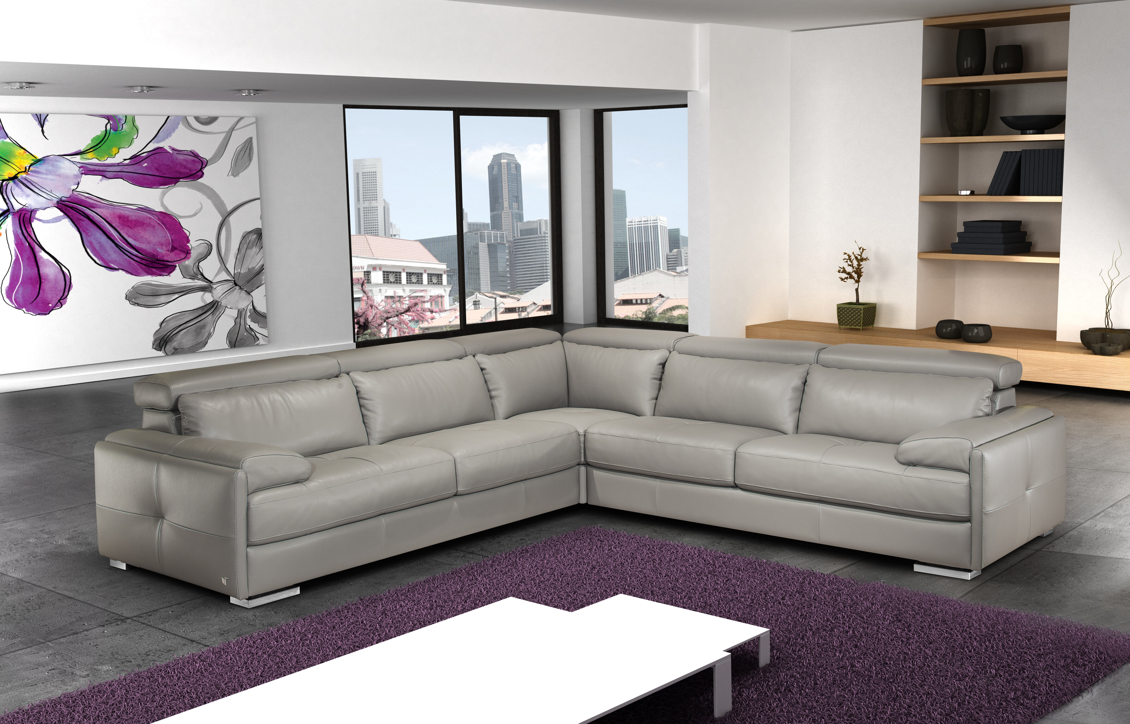 charcoal rooms gray pc living dark leather products frankford sectional sets room