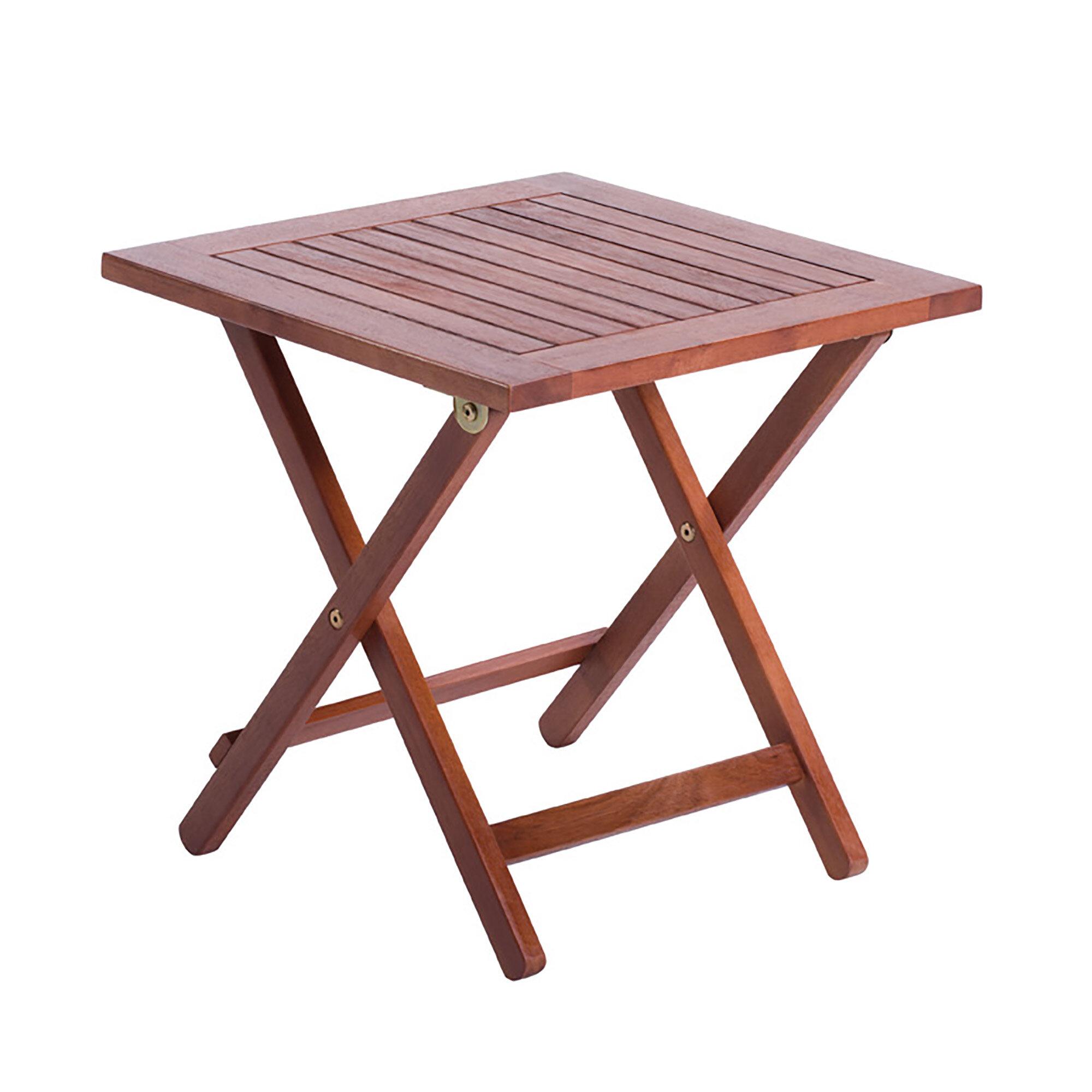 Merveilleux Arboria Ethier Folding Side Table | Wayfair