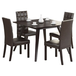 Atwood 5 Piece Dining Set by dCOR design