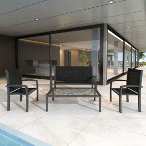 4-Sitzer Loungemöbel-Set von Home Etc