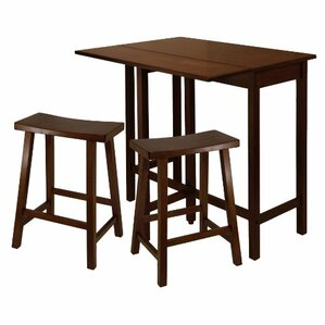 Lynnwood 3 Piece Counter Height Dining Set by Luxury Home