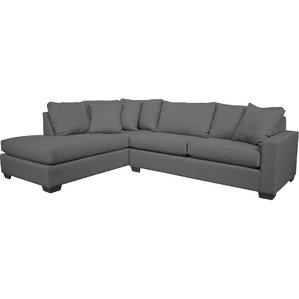 Hannah Sectional  sc 1 st  AllModern : left facing chaise sectional sofa - Sectionals, Sofas & Couches