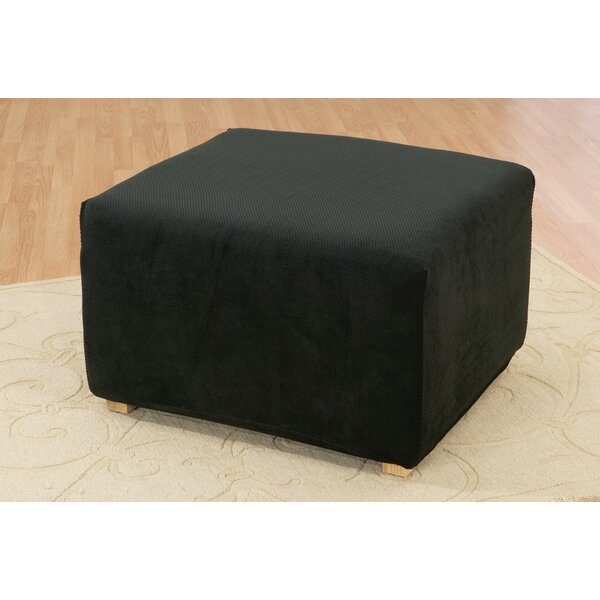 shipping home on garden free sure fit product overstock over stretch slipcover ottoman orders