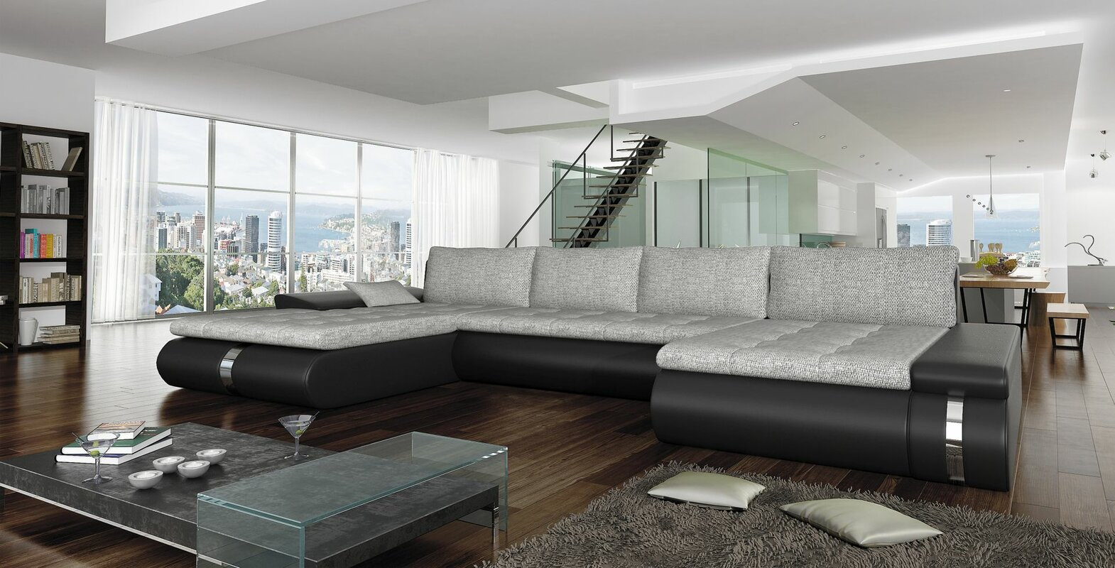 big comfy sectional couch wayfair rh wayfair com sectional sofas for large rooms large sectional sofas canada