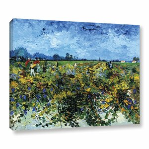 Green Vineyard by Vincent Van Gogh Painting Print on Canvas