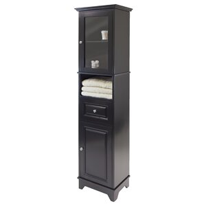 Alps 2 Door and 1 Drawer Tall Accent Cabinet
