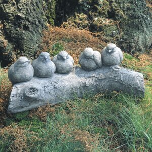 Birds on a Log Statue
