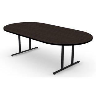 Racetrack Oval Conference Tables Youll Love Wayfair - Oval conference table for 8