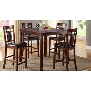Clarklake 5 Piece Counter Height Dining Set