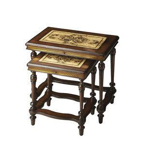 Heritage 2 Piece Nesting Tables by Butler