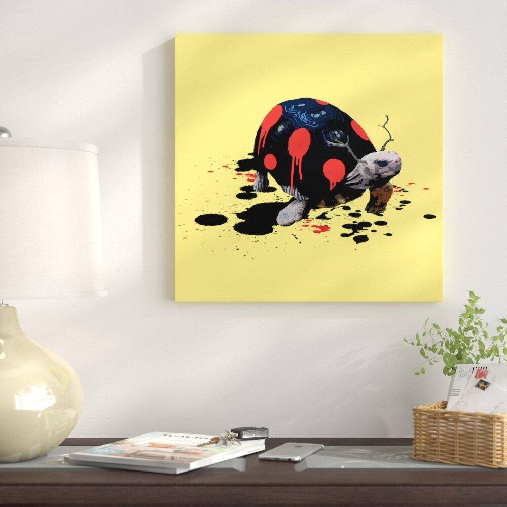 Modern Ladybug Wall Art Gift - Art & Wall Decor - hecatalog.info