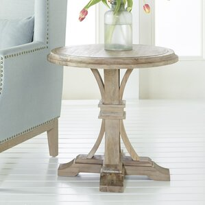 Parfondeval Round End Table by Lark Manor