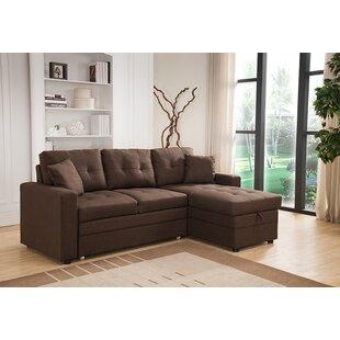 Chocolate Brown Sectional Sofa Wayfair