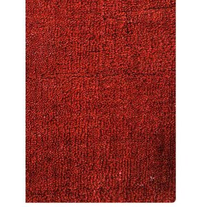 Ry Hand Knotted Wool Red Area Rug