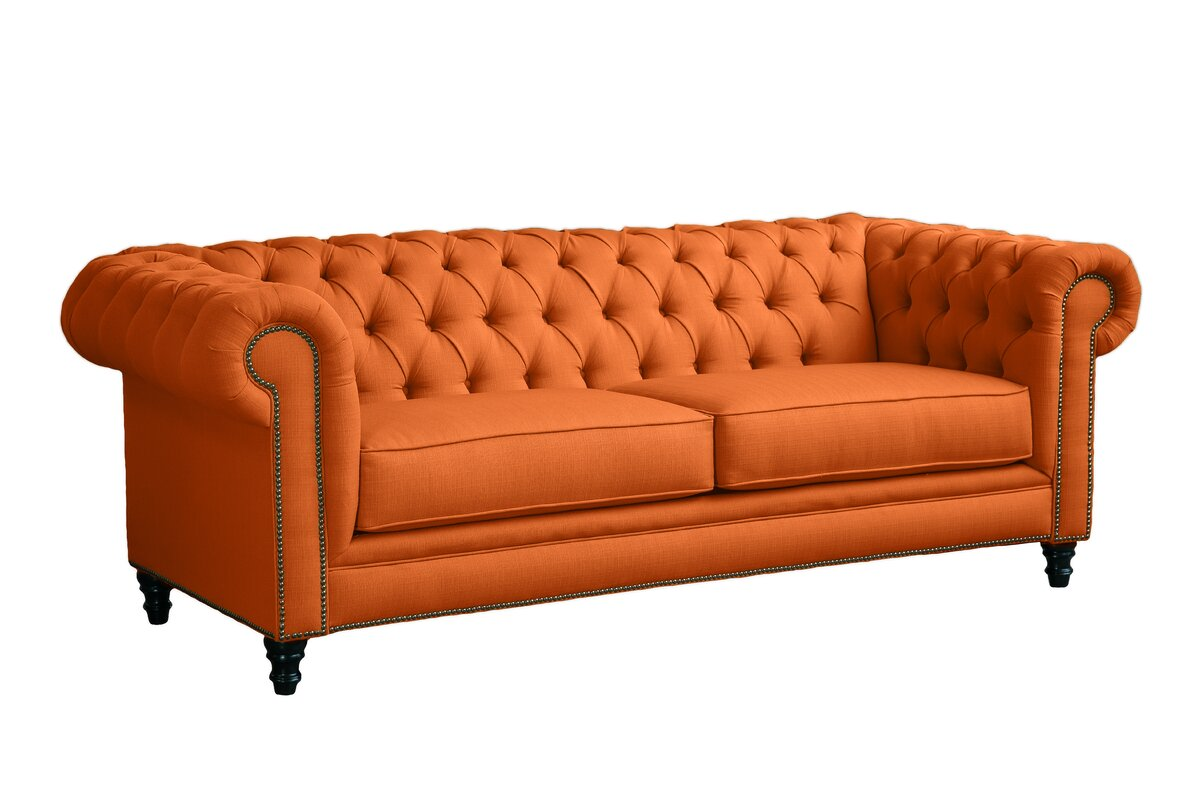 Loni M Designs Meagan Chesterfield Sofa& Reviews Wayfair ca