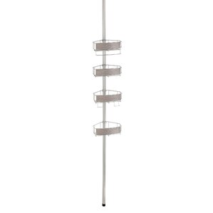 realwood tension pole shower caddy