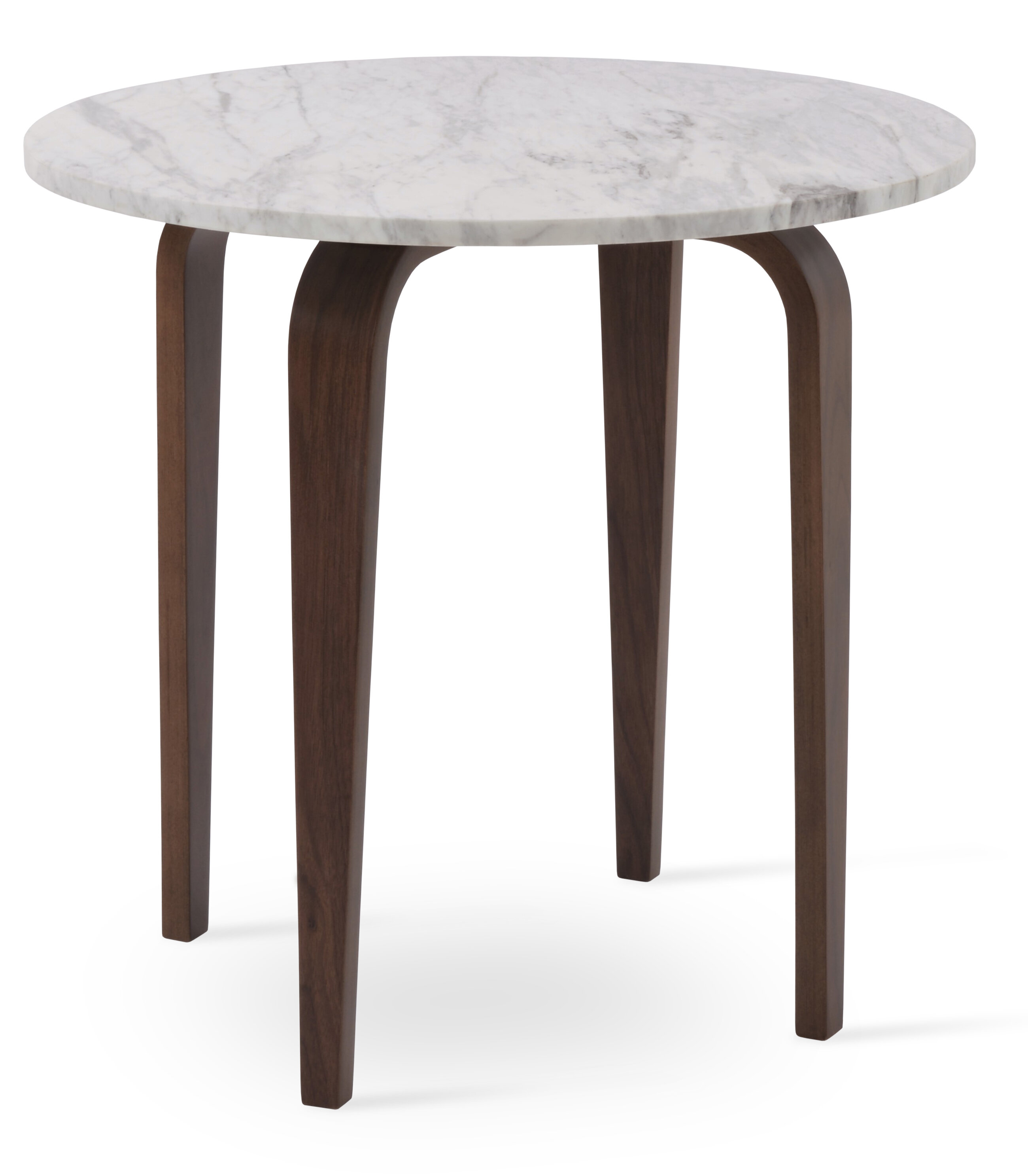 Sohoconcept chanelle marble end table wayfair