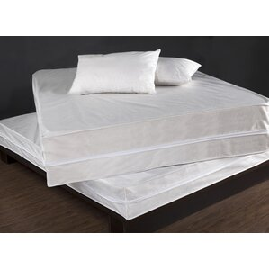 Bed Bug & Dust Mite Control Complete Bed Hypoallergenic Waterproof Mattress Protector Set by PermaShield