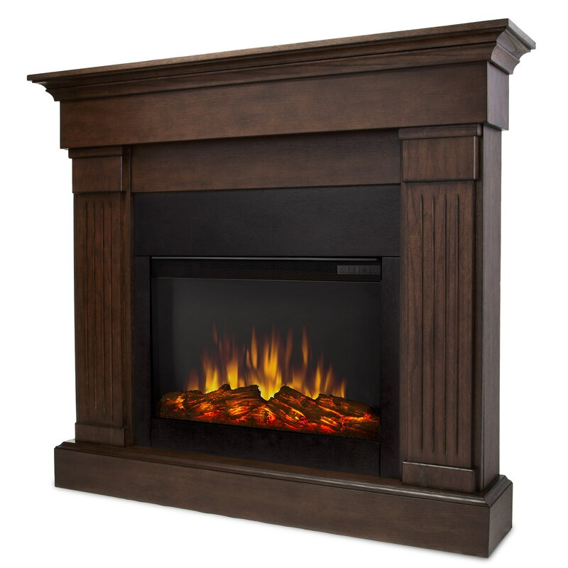 Real Flame Crawford Wall Mounted Electric Fireplace Reviews Wayfair