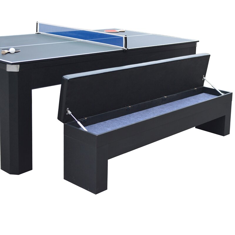 Enjoyable Park Avenue 7 Foot Pool Table Tennis Combination With Dining Andrewgaddart Wooden Chair Designs For Living Room Andrewgaddartcom