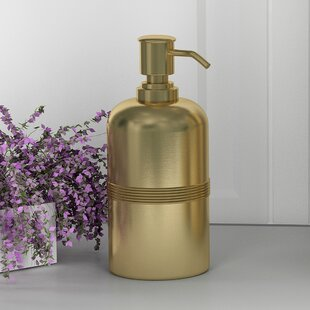 Favorite Gold Soap Dispensers You'll Love | Wayfair SX23