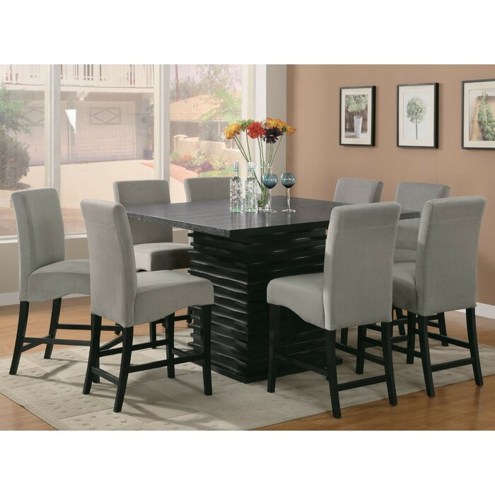 dark room counter pc sets chairs cherry height stanton dr product dining wood rm chair