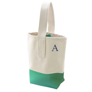 Personalized Dipped Wine Tote