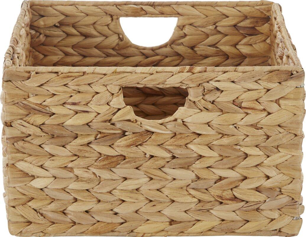 Wayfair Basicstm Wayfair Basics Woven Hyacinth Storage & Hyacinth Baskets For Storage - Listitdallas