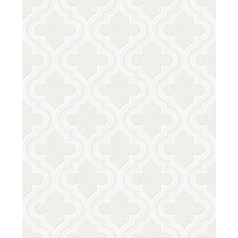 """Paloma Paintable 33' x 20.5"""" Wallpaper Roll"""