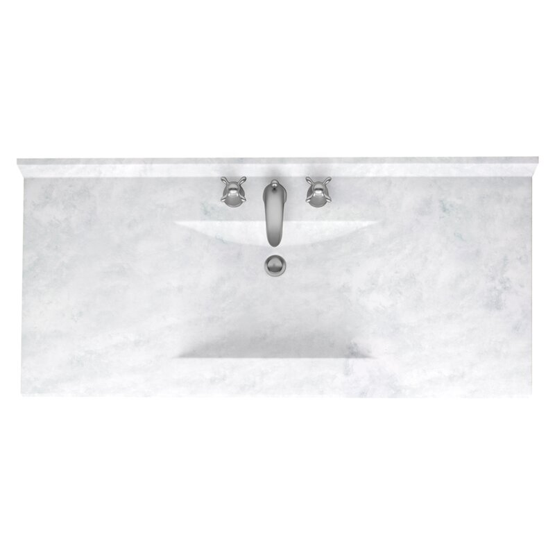 Vanity Tops Youll Love Wayfair - Bathroom vanity tops 43 x 22 for bathroom decor ideas
