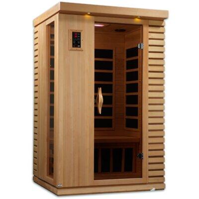 puretech low emf 2 person ir carbon far infrared sauna - Infared Sauna