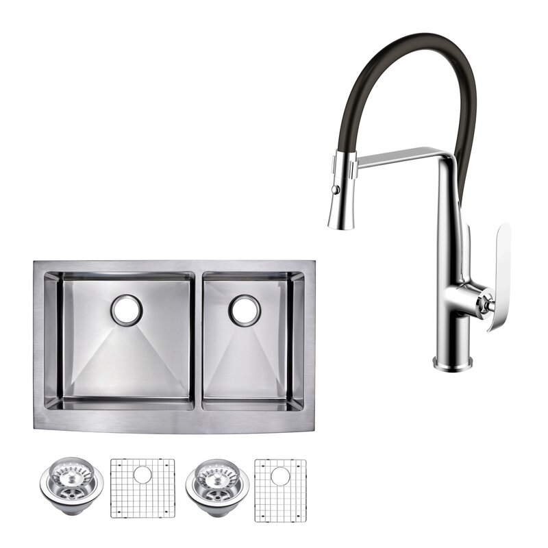 dCOR design All-in-One Front Stainless Steel 36\