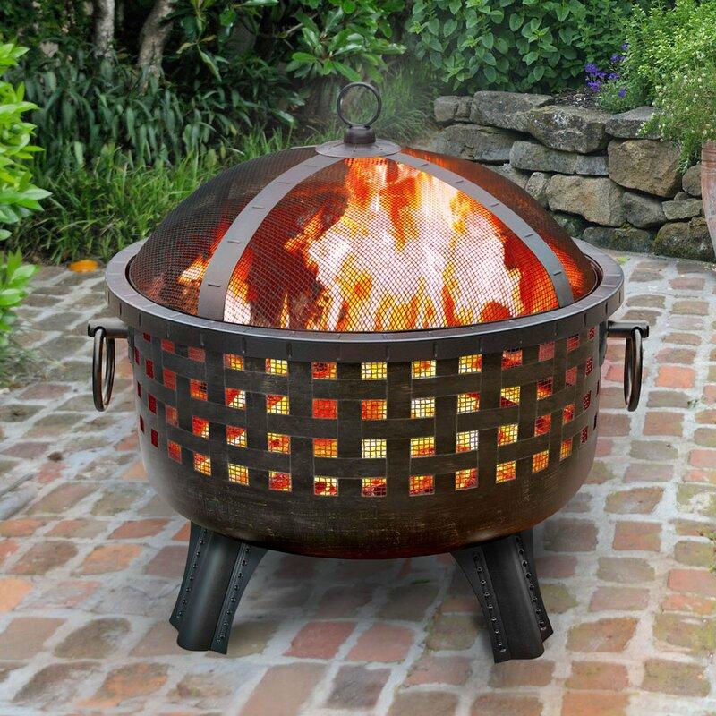 Landmann Garden Lights Savannah Wood Burning Fire Pit ...